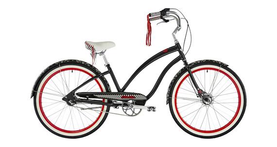 """Electra Queen of Hearts 3i - Vélo de ville Femme - 26"""" noir"""